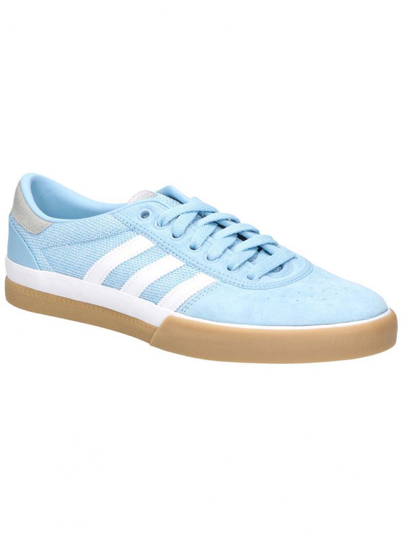 adidas Lucas Premiere Clear Blue/Ftwr White/Mgh | Mens Skate Shoes