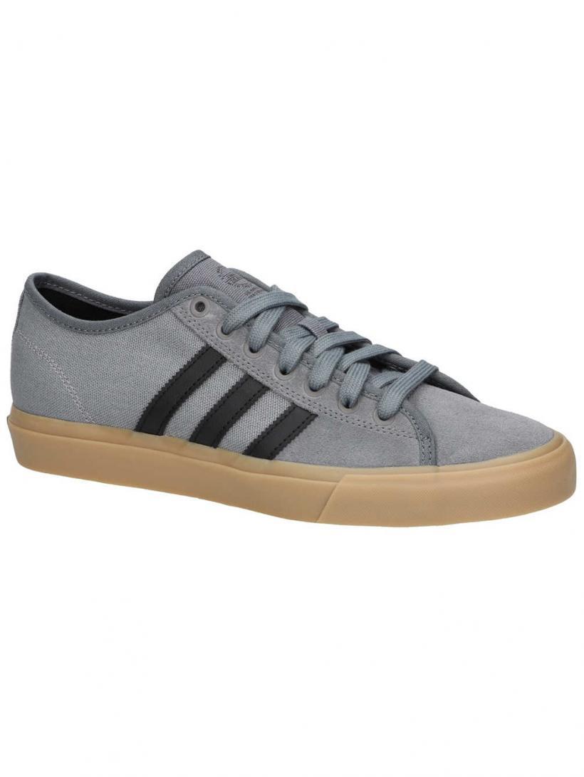adidas Matchcourt RX Grey Four/Core Black/Gum4 | Mens Skate Shoes