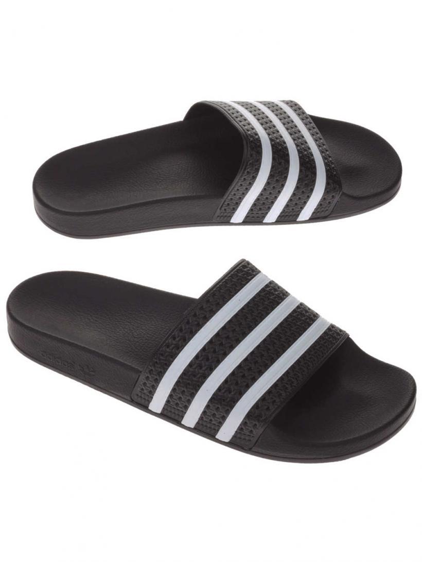 adidas Originals Adilette Black1/White | Mens Sandals