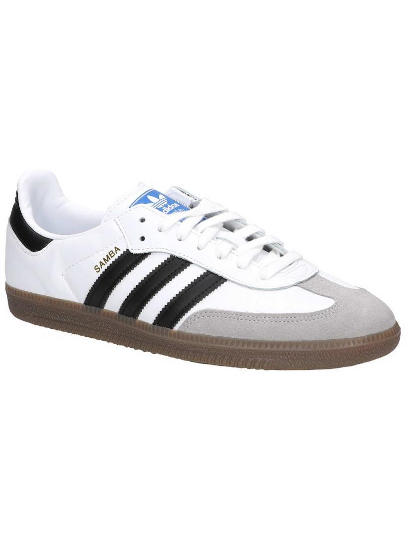 adidas Originals Samba OG Ftwr White/Core Black/Cle | Mens Sneakers