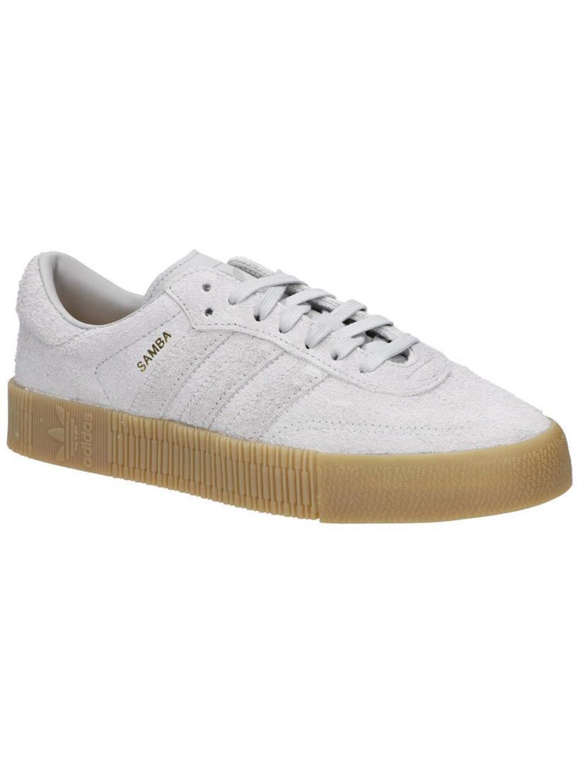 adidas Originals Sambarose Greytwo/Greytwo/Gum4 | Mens/Womens Sneakers