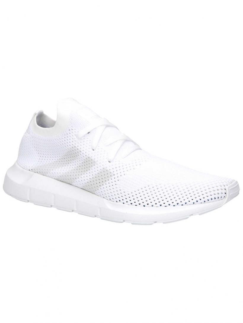 adidas Originals Swift Run Primeknit Ftwr White/Grey One/Ftwr | Mens Sneakers