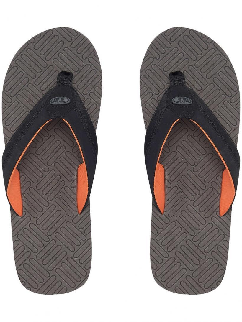 Animal Engraved Plum Grey | Mens Sandals