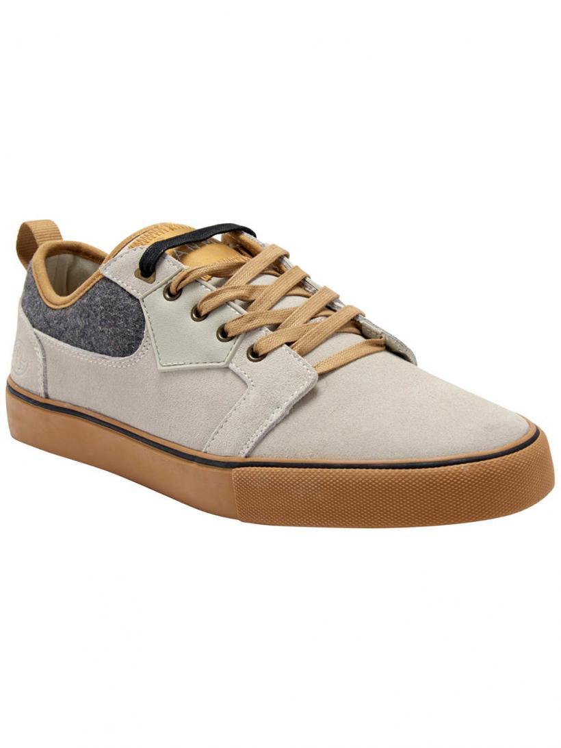 Animal Iconn Stone Grey | Mens Skate Shoes