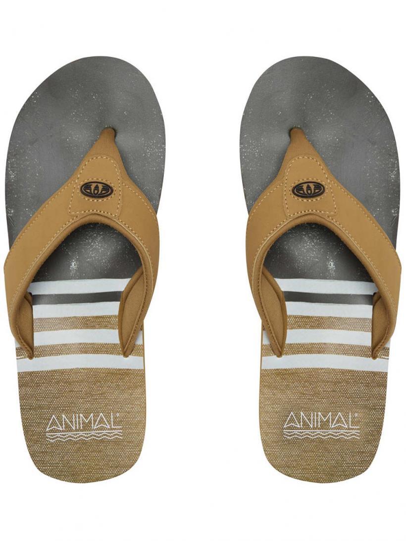 Animal Jekyl Swim Patina Brown | Mens Sandals