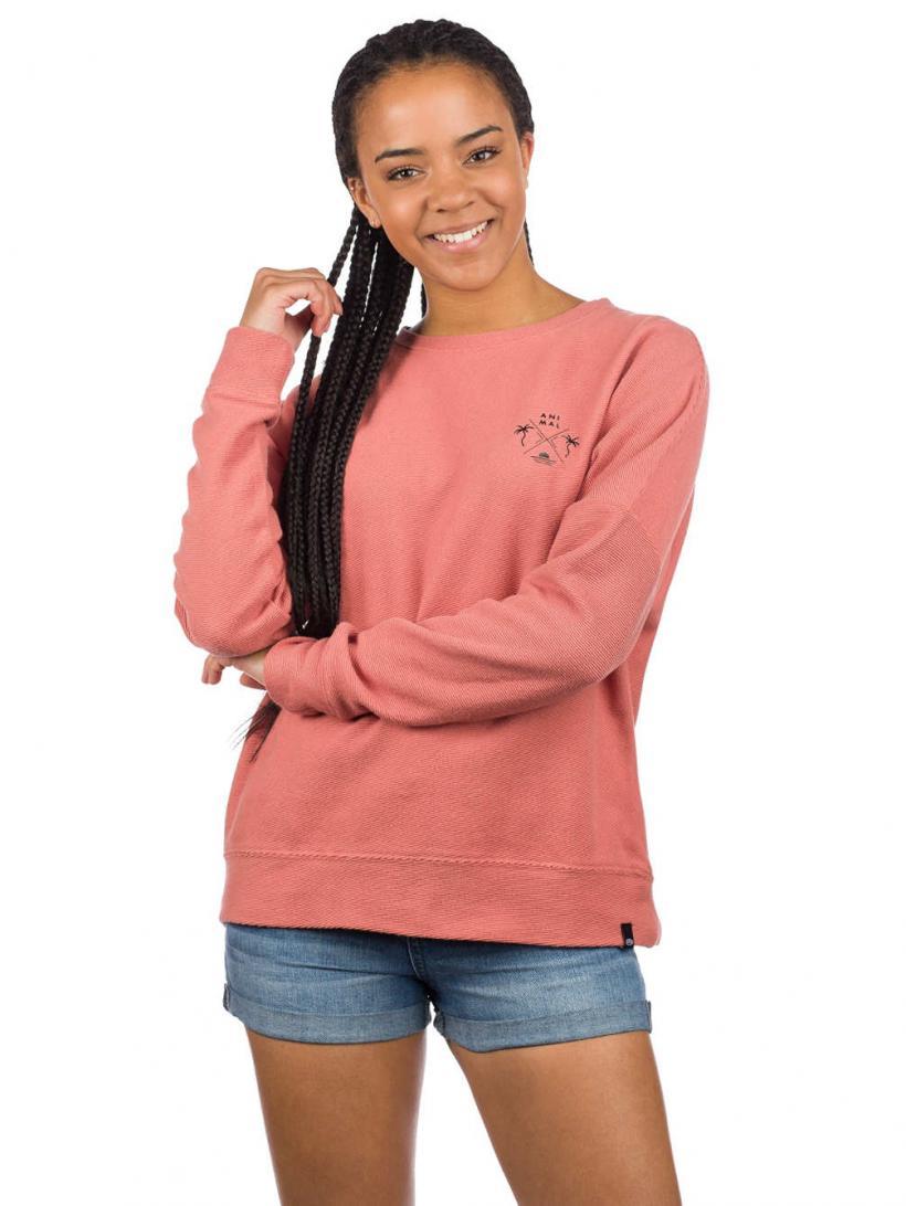 Animal Malindi Sweater Brick Dust Pink | Womens Pullovers