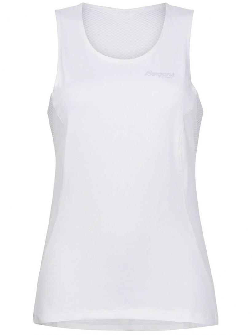 Bergans Floyen Tank Top White/Alu | Mens/Womens Tank Tops