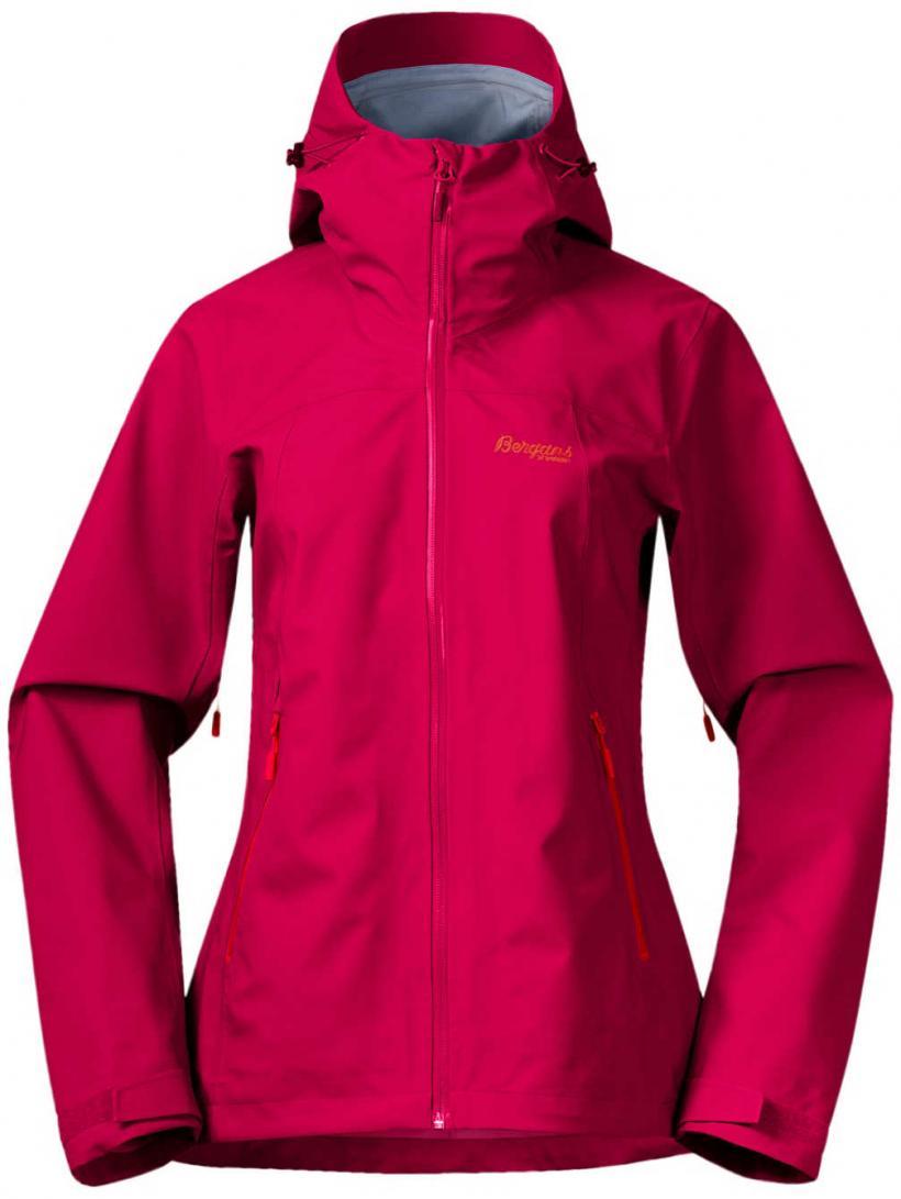 Bergans Gjende 3L Outdoor Jacket Bougainvillea/Strawberry | Womens Jackets
