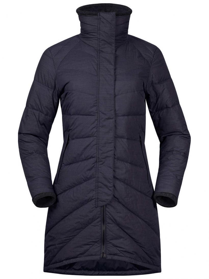 Bergans Oslo Down Light Coat Dk Navy Mel | Womens Jackets