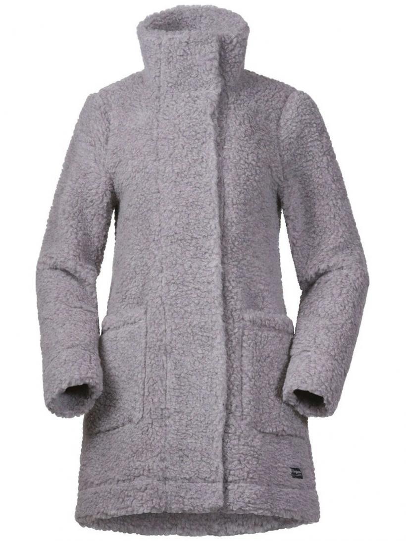 Bergans Oslo Wool Loosefit Jacket Grey Mel | Womens Jackets