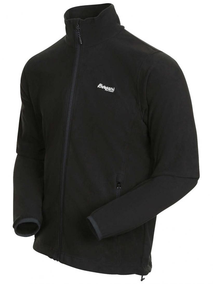 Bergans Park City Fleece Jacket Black | Mens Jackets