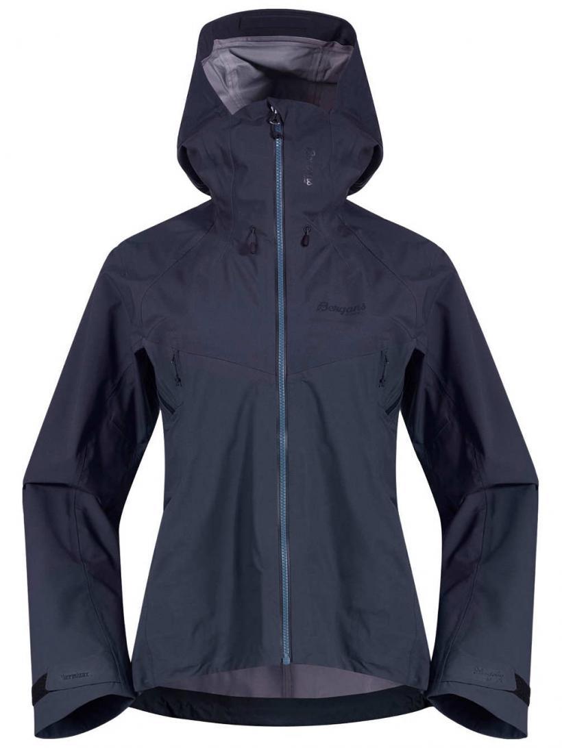 Bergans Slingsby 3L Outdoor Jacket Fogblue/Dk Navy | Womens Jackets