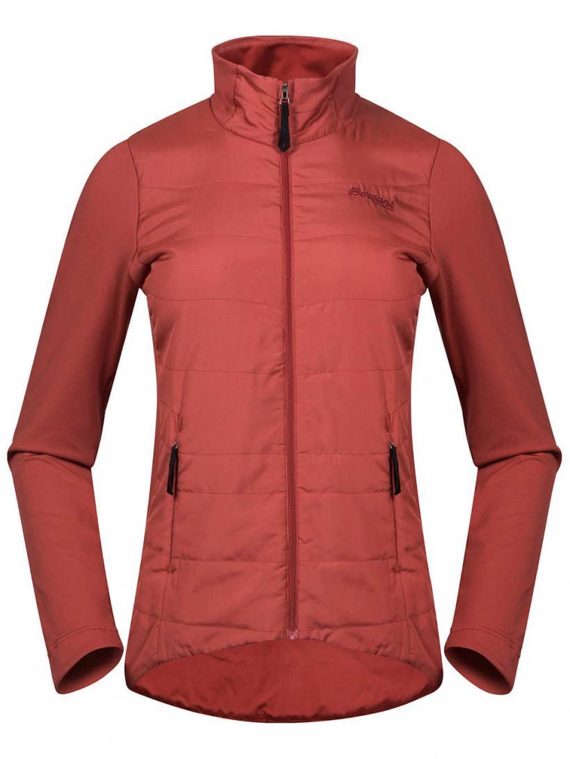 Bergans Stranda Hybrid Jacket Red | Womens Jackets
