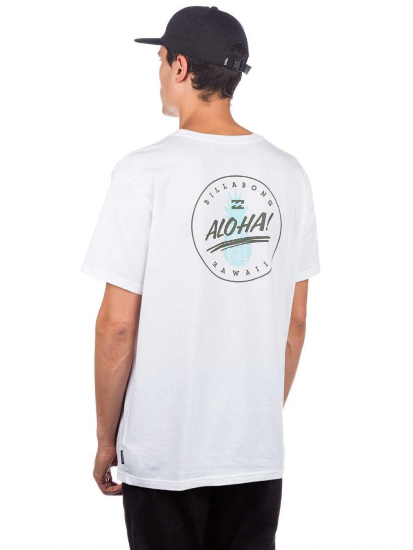 Billabong Aloha T-Shirt White | Mens T-Shirts
