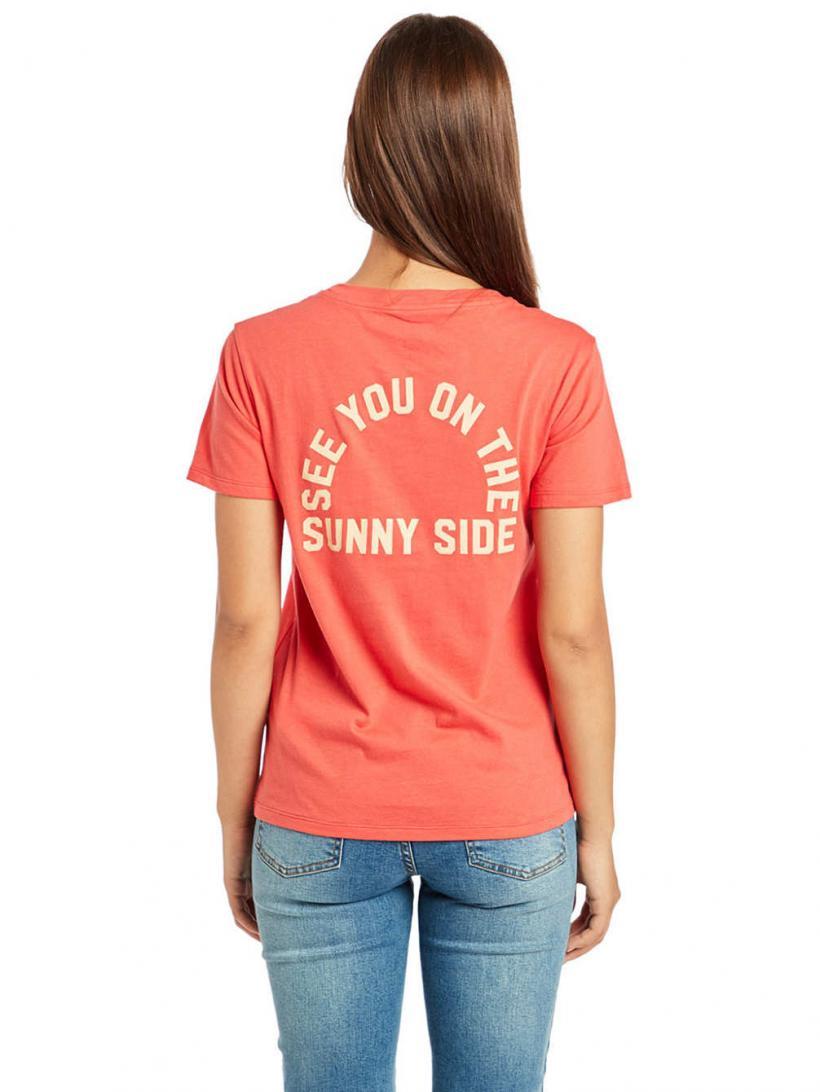 Billabong Destination T-Shirt Sunset Red | Mens/Womens T-Shirts