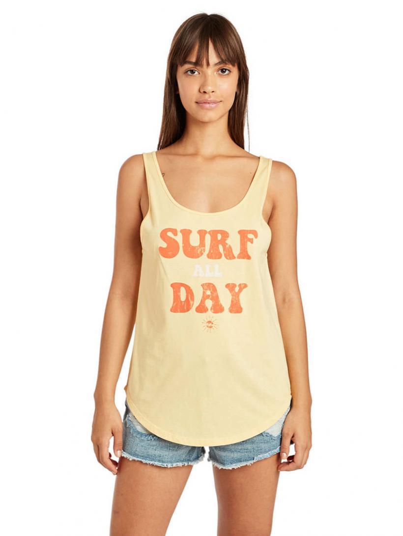 Billabong Double Scoop Tank Top Sunny Dayz | Mens/Womens Tank Tops