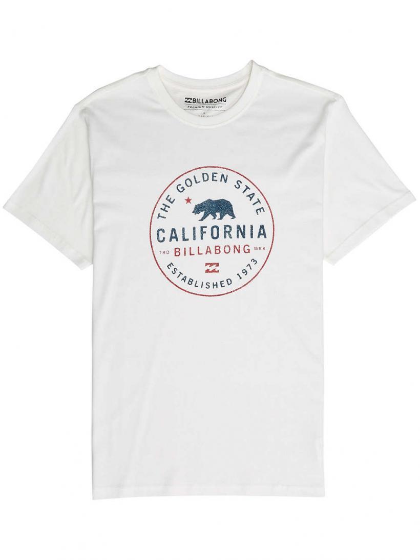 Billabong Golden State T-Shirt Bone | Mens T-Shirts