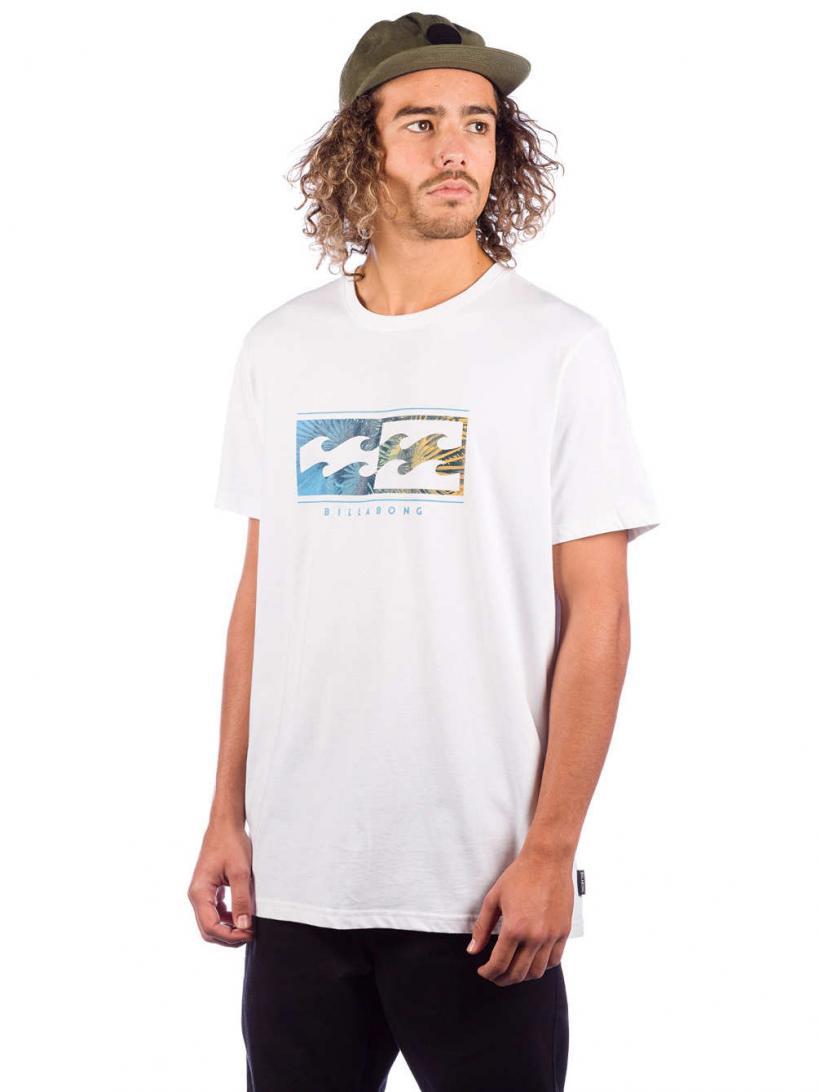 Billabong Inversed T-Shirt White | Mens T-Shirts