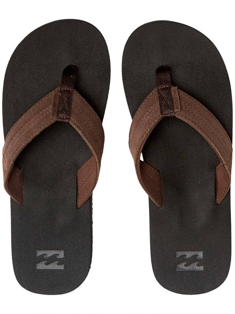 Billabong Seaway Suede Black | Mens Sandals