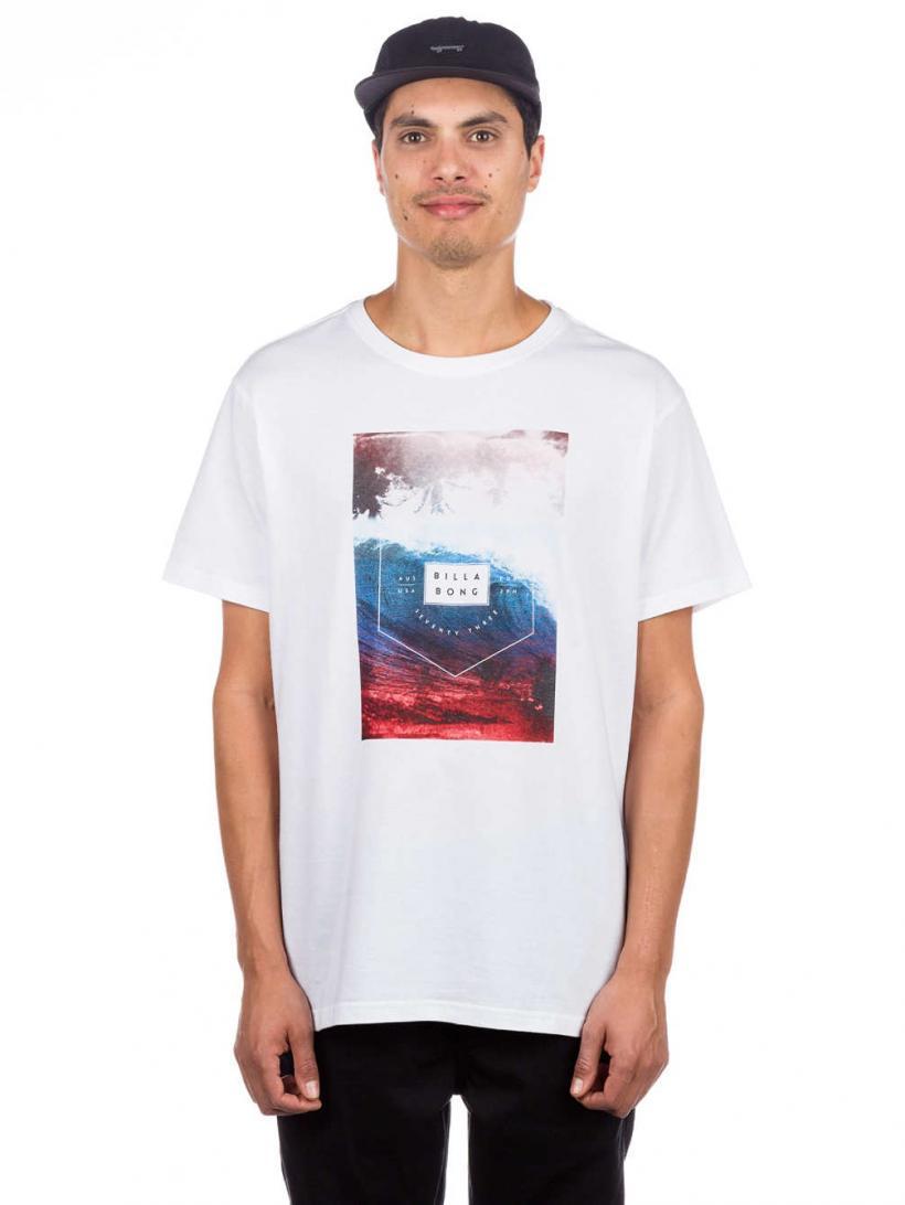 Billabong Section T-Shirt White | Mens T-Shirts