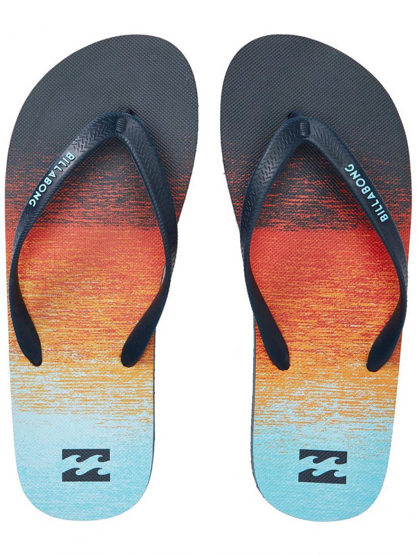 Billabong Tides 73 Stripes Orange | Mens Sandals