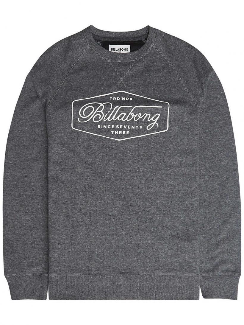 Billabong Trademarker Crew Sweater Black | Mens Pullovers
