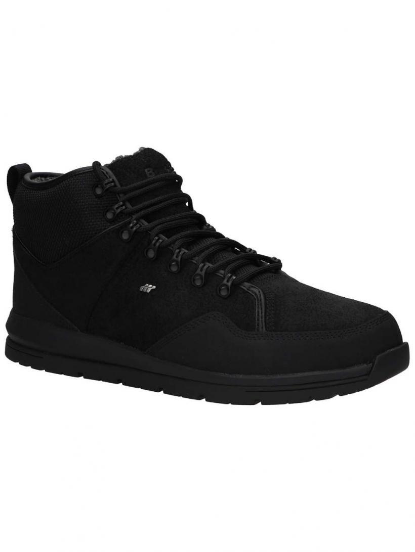 Boxfresh Berthar Suede Black | Mens Winter Shoes