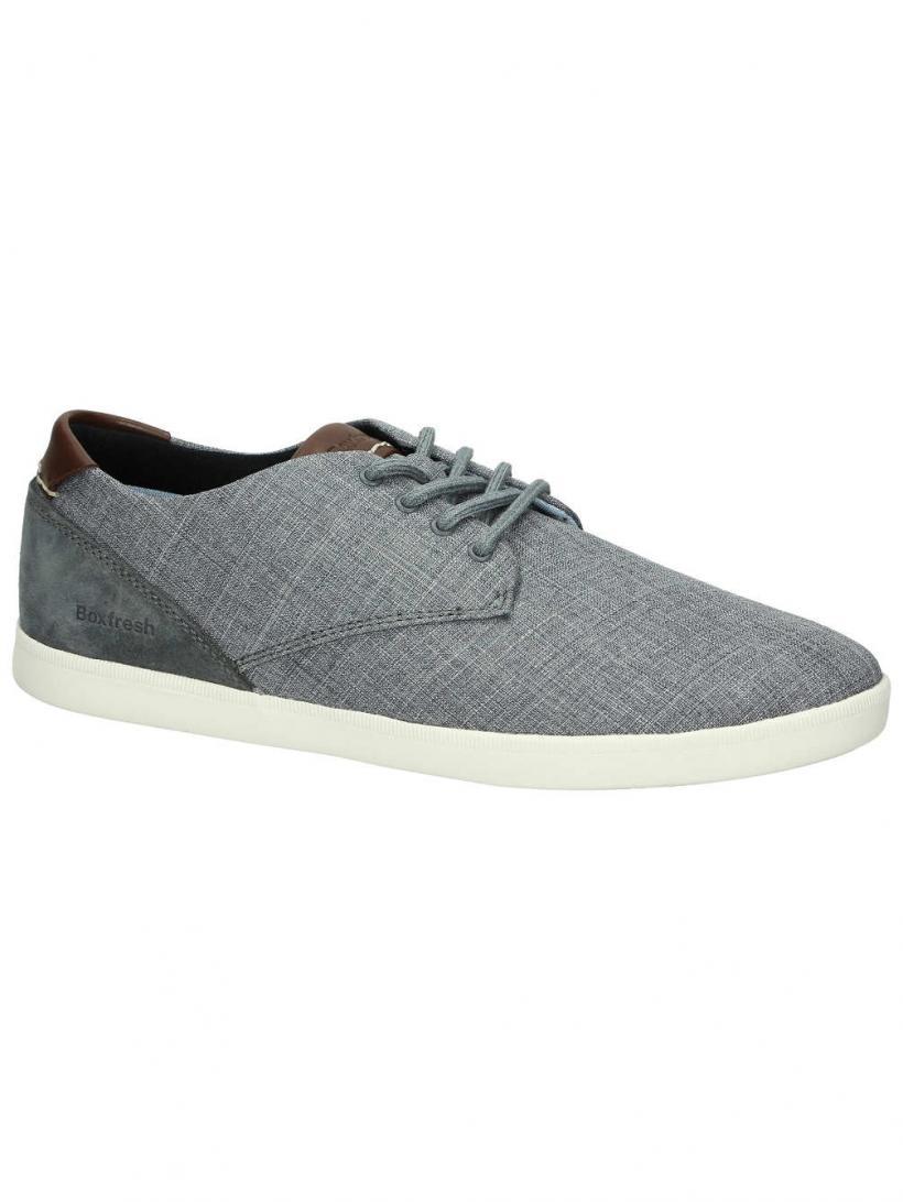 Boxfresh Henning Steel Grey   Mens Sneakers