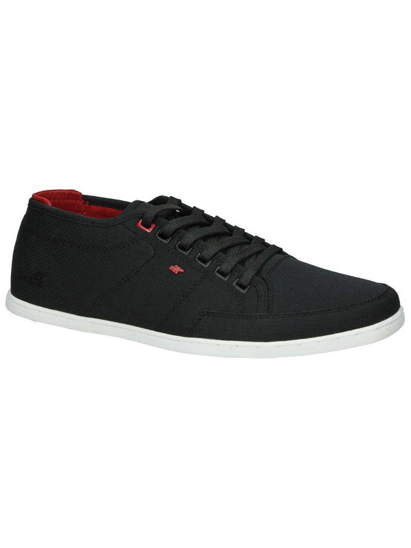 Boxfresh Sparko Black/Chilli Red | Mens Sneakers