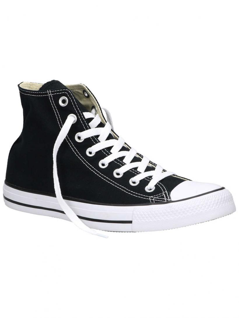 Converse Chuck Taylor All Star Core Canvas Hi Sneaker Black | Mens Sneakers