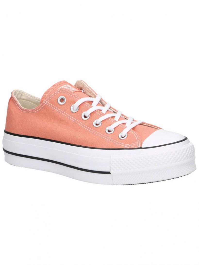 Converse Chuck Taylor All Star Lift OX Desert Peach/White/Black | Mens/Womens Sneakers