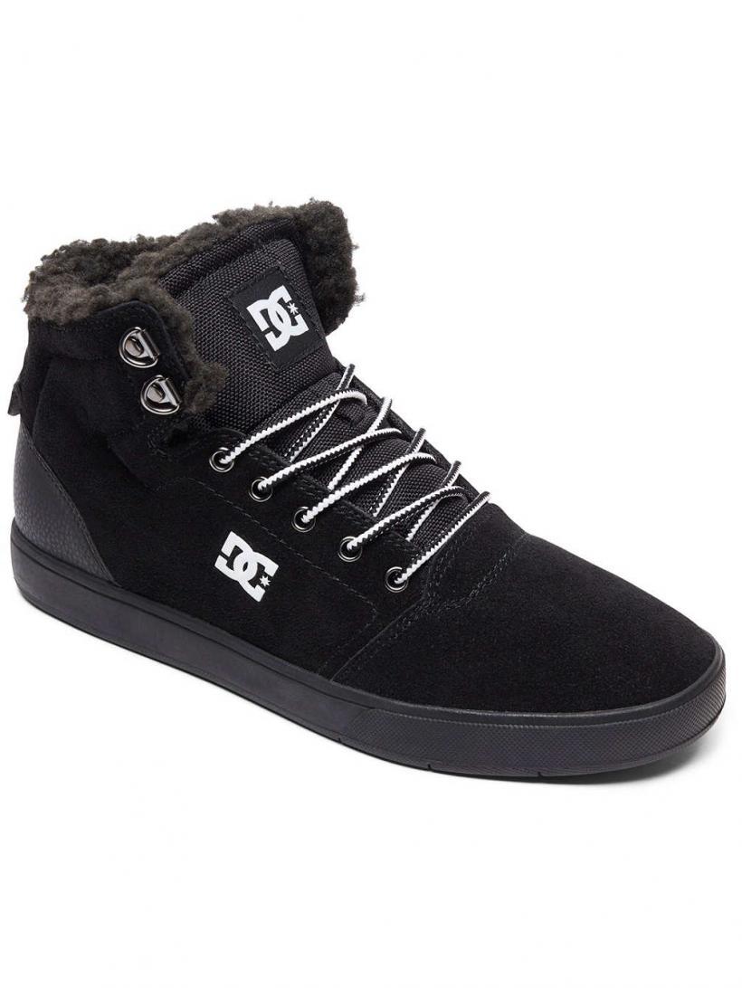 DC Crisis High WNT Black/White/Black | Mens Winter Shoes