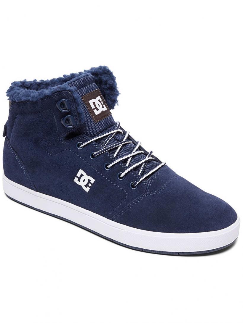 DC Crisis High Wnt Navy/Khaki | Mens Winter Shoes