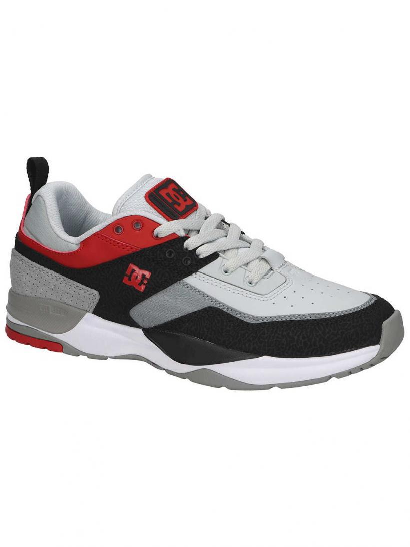 DC E.Tribeka Black/Athletic Red/Battle | Mens Sneakers