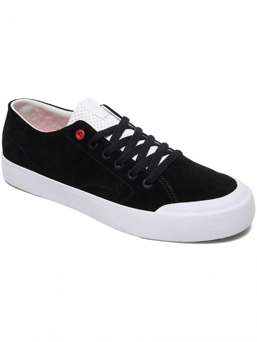 DC Evan LO Zero S Black/Athletic Red | Mens Skate Shoes