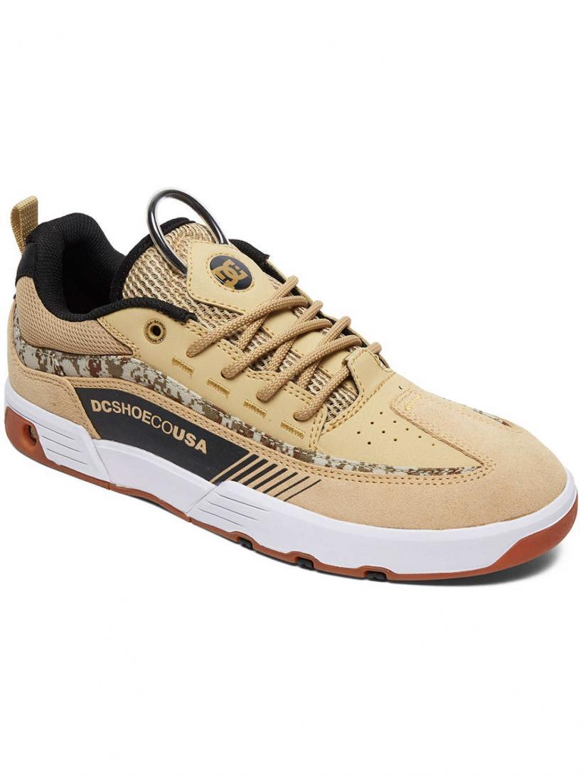 DC Legacy 98 S CI Tan Camo | Mens Skate Shoes