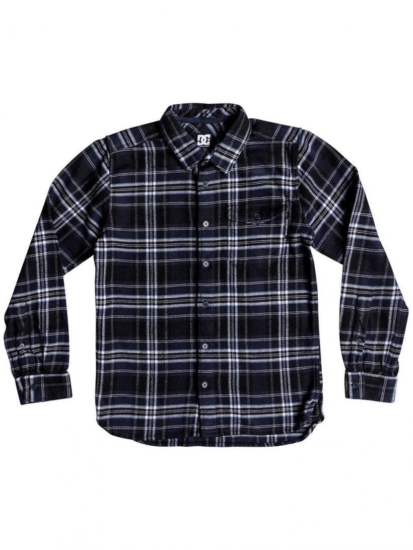 DC Marsha Shirt LS Black Iris | Mens Shirts