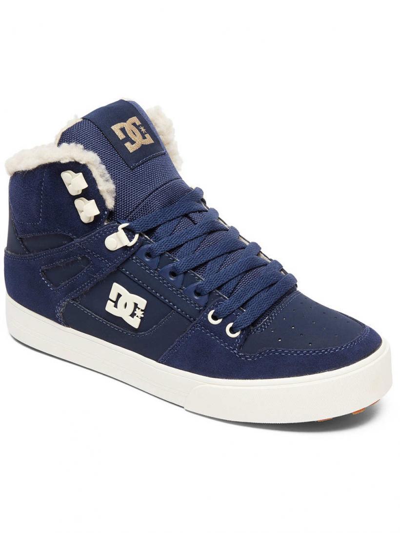 DC Pure HT WC Wnt Navy/Khaki | Mens Winter Shoes