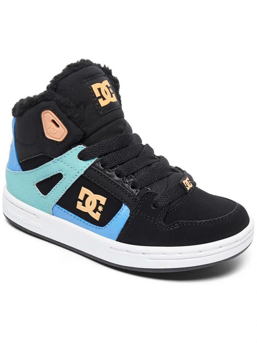 DC Pure HT Wnt Black/Multi/White | Mens Sneakers