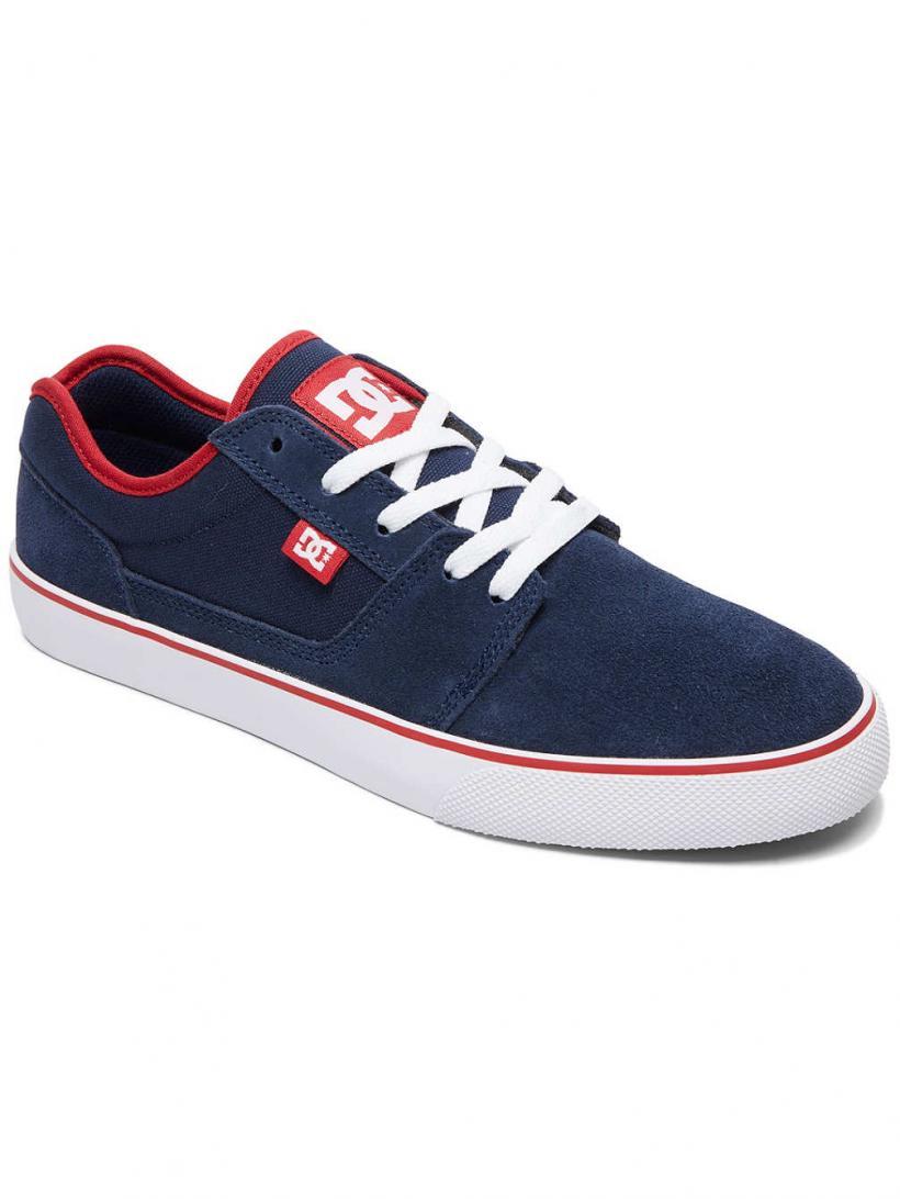 DC Tonik Navy/Red   Mens Sneakers