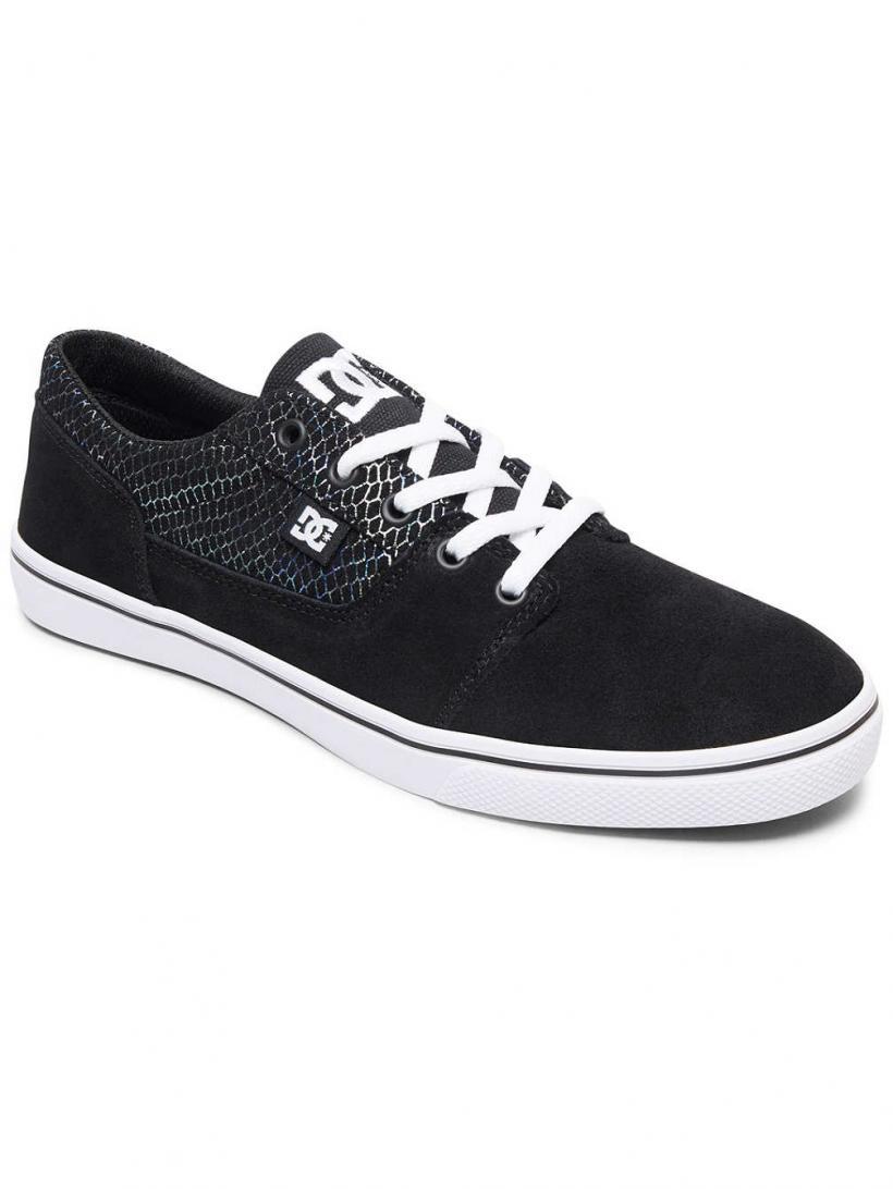 DC Tonik SE Black/Silver/Black   Mens/Womens Sneakers