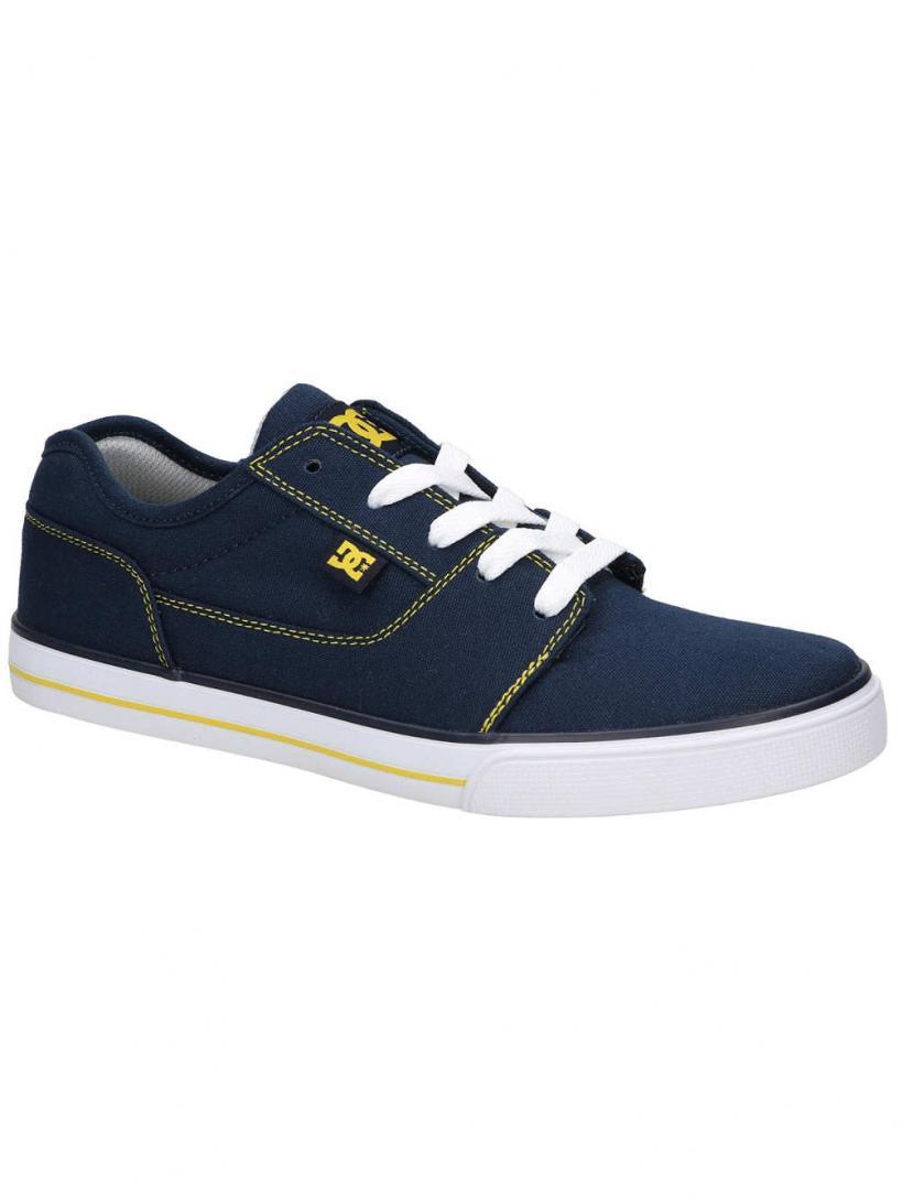 DC Tonik TX Navy/Yellow | Mens Sneakers