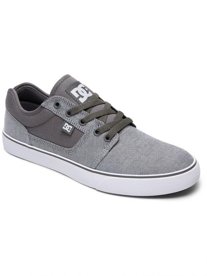 DC Tonik TX SE Grey/White   Mens Sneakers