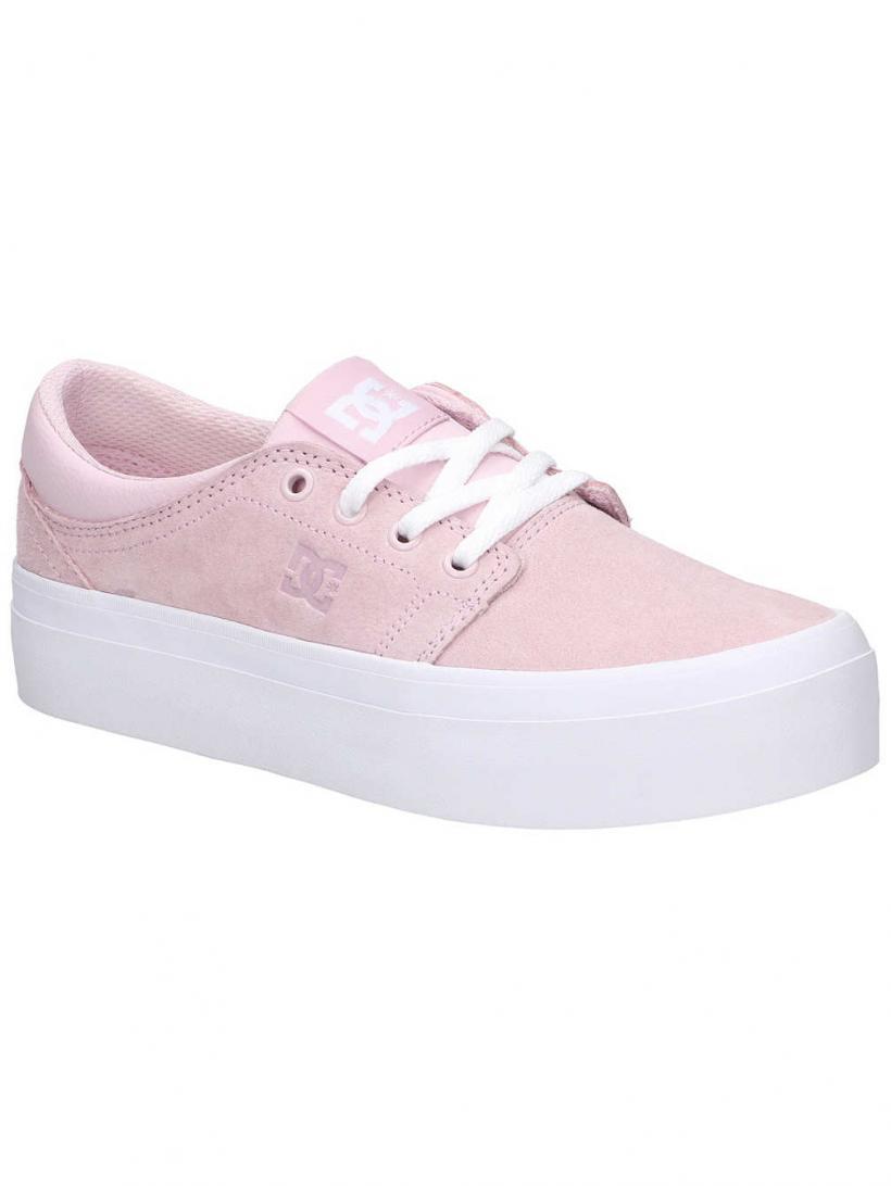 DC Trase Platform SE Pink | Mens/Womens Sneakers