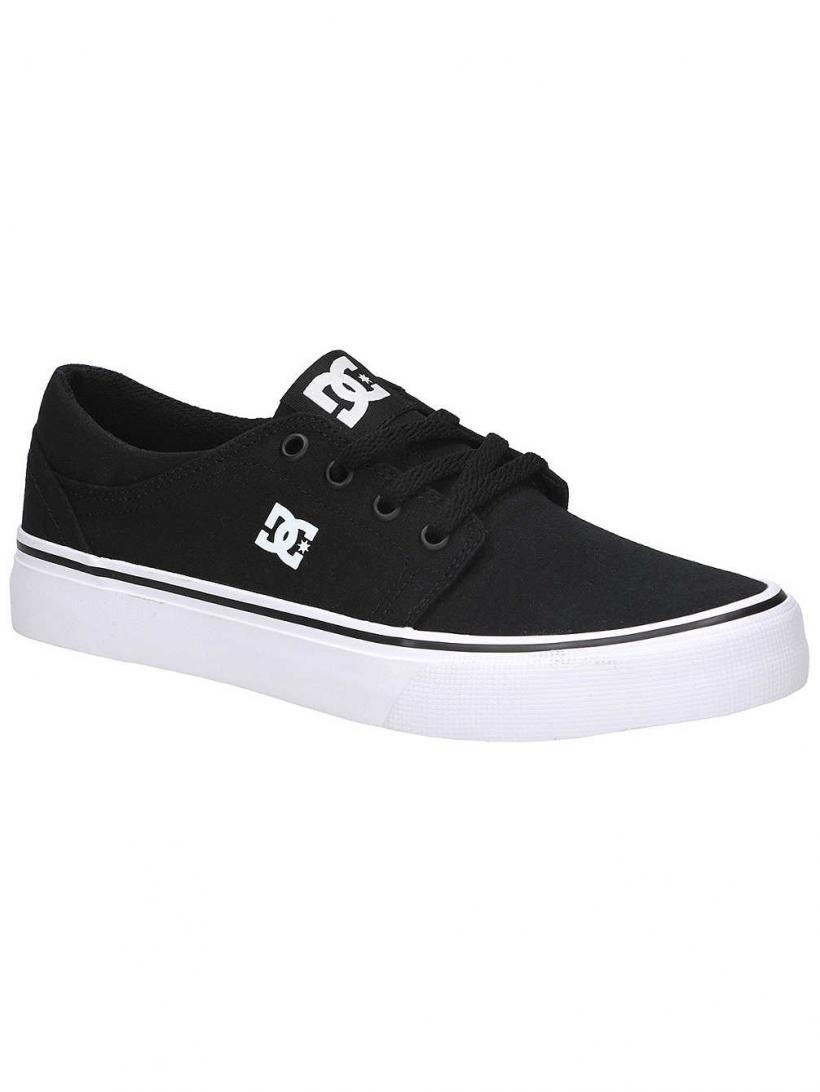 DC Trase TX Black/White | Mens Sneakers