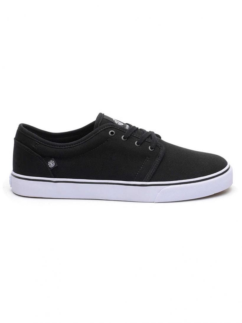 Element Darwin Black White | Mens Skate Shoes