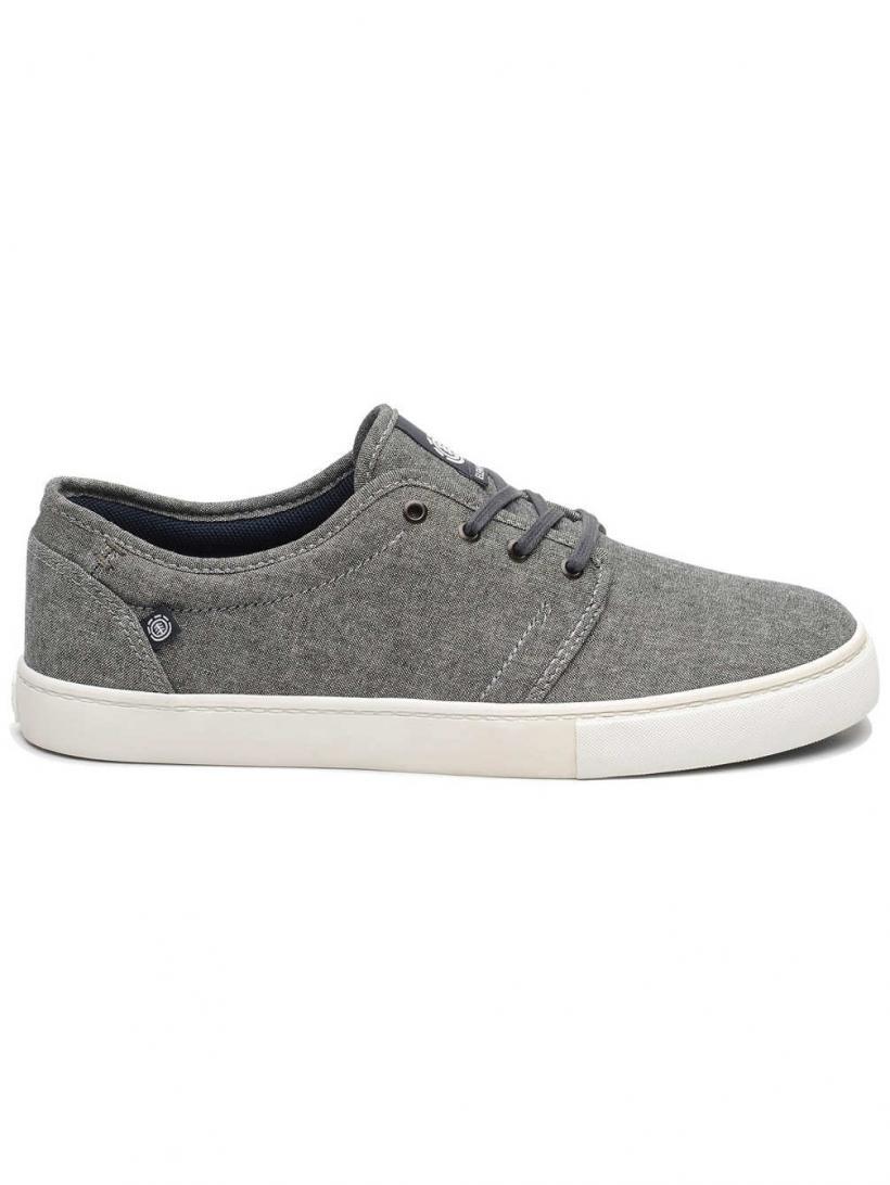 Element Darwin Stone Chambray | Mens Skate Shoes
