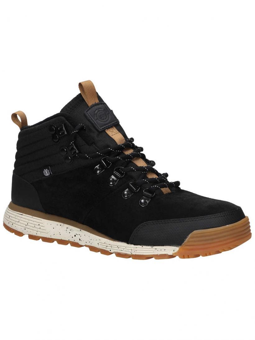Element Donnelly Light Black Gum | Mens Winter Shoes
