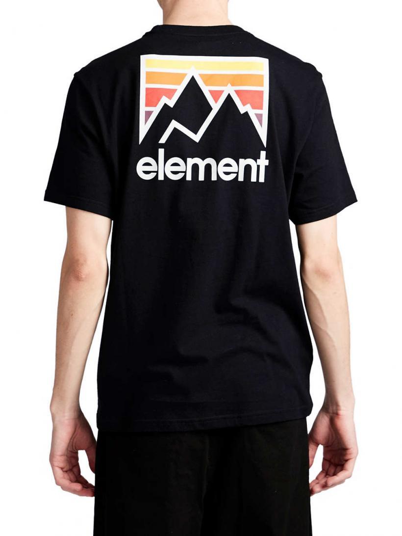 Element Joint T-Shirt Flint Black | Mens T-Shirts