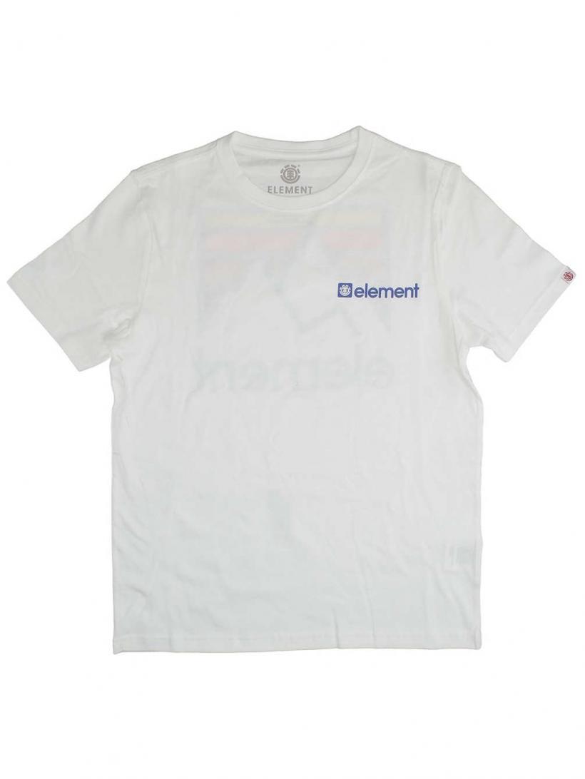 Element Joint T-Shirt Optic White | Mens T-Shirts